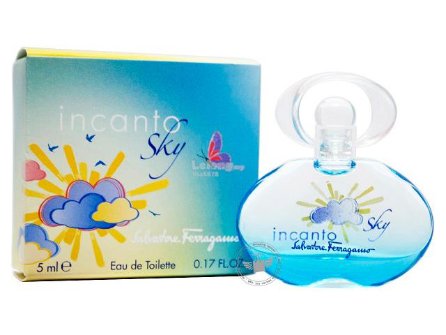 *100% Original Perfume Miniature*S.Ferragamo Incanto Sky 5ml Edt
