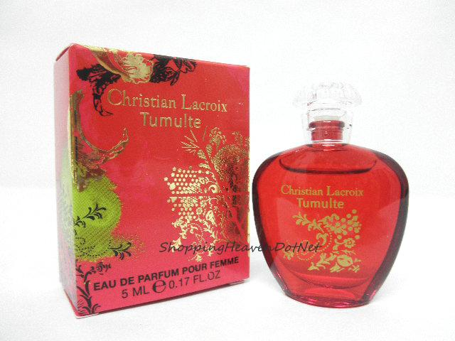 *100% Original Perfume Miniature* Tumulte by Christian Lacroix 5ml edp