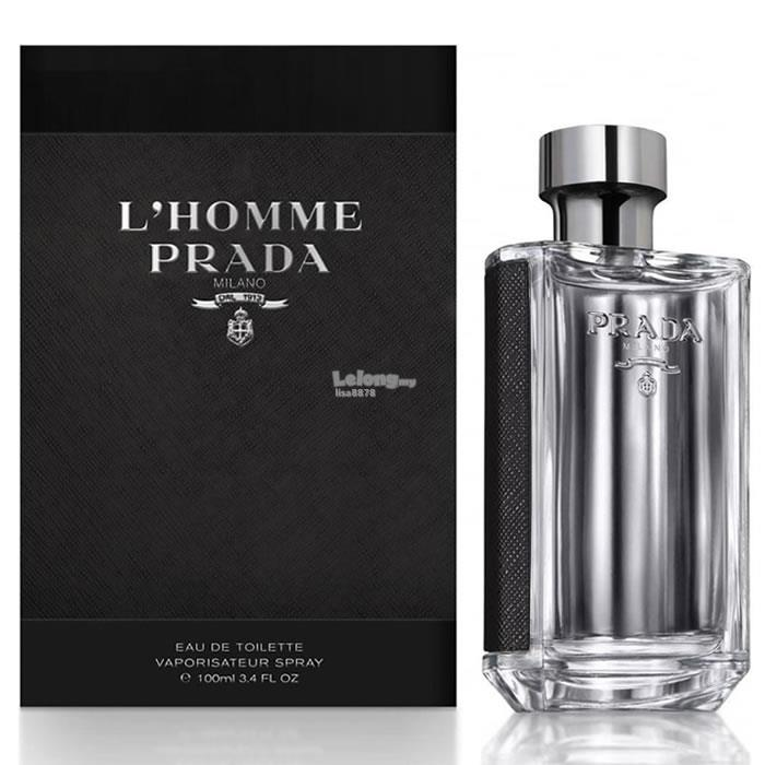 *100% Original Perfume*Prada L'Homme 100ml Edt Spray