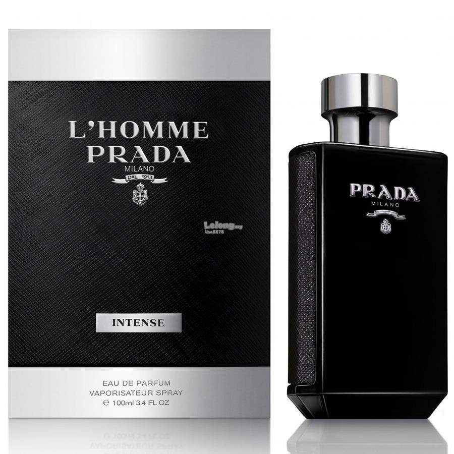 *100% Original Perfume* Prada L'Homme Intense 100ml EDP Spray