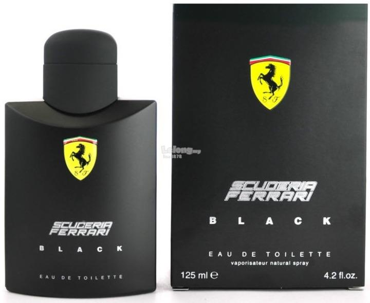 *100% Original Perfume*Scuderia Ferrari Black 125ml Edt Spray