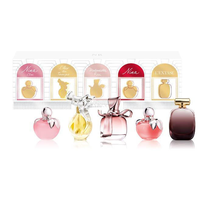 *100% Original Perfume Set*Nina Ricci 5-Piece Miniature Gift Set