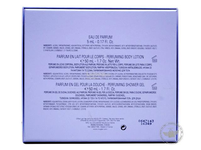 0623112e94  100% Original Perfume Set Thierry Mugler Angel EDP 3-Piece Travel Set