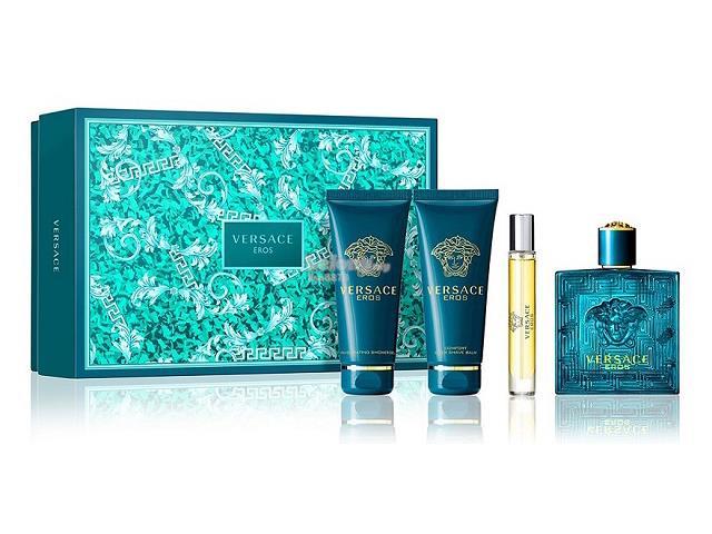53aa235ad0b2  100% Original Perfume Set Versace Eros Pour Homme Eau de Toilette 4pc. ‹ ›