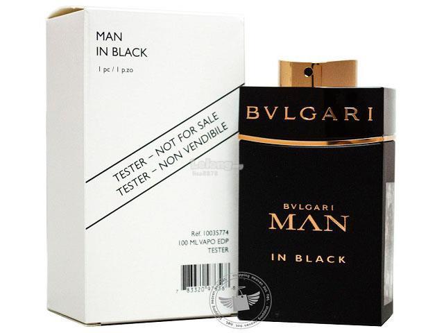 100% Original Perfume Tester Unit Bvlgari Man In Black 100ml EDP Spra. ‹ › d8bac8ee17