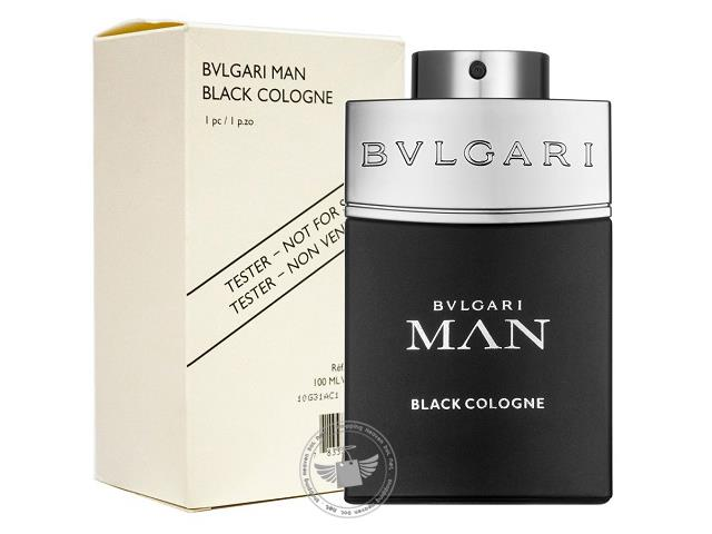 *100% Original Perfume Tester Unit*Bvlgari Man Black Cologne 100ml Edt