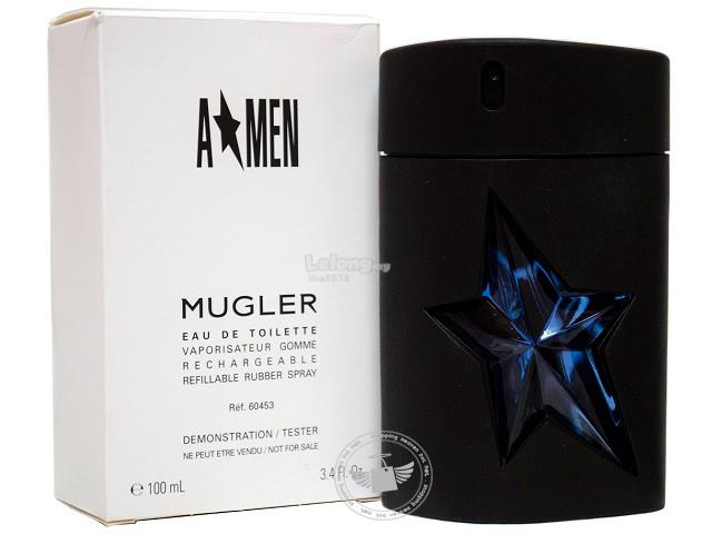 *100% Original Perfume Tester Unit*Thierry Mugler A*Men 100ml Edt Spra