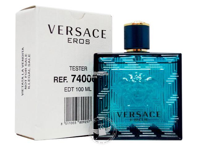 100% Original Perfume Tester Unit Versace Eros Pour Homme 100ml Edt. ‹ › 409291ebf40