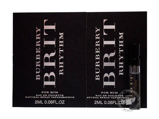 *100% Original Perfume Vials*Brit Rhythm For Men 2ml Edt x2