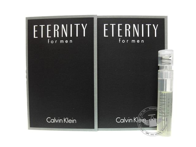*100% Original Perfume Vials* CK Eternity Men 1.2ml Edt Spray  x2