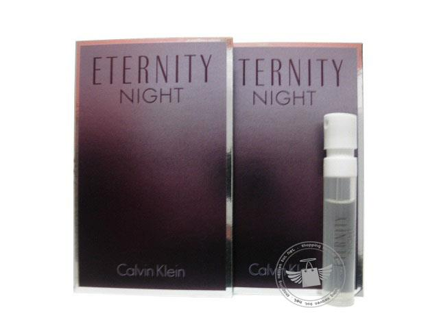 *100% Original Perfume Vials*CK Eternity Night Women 1.2ml Edp x2