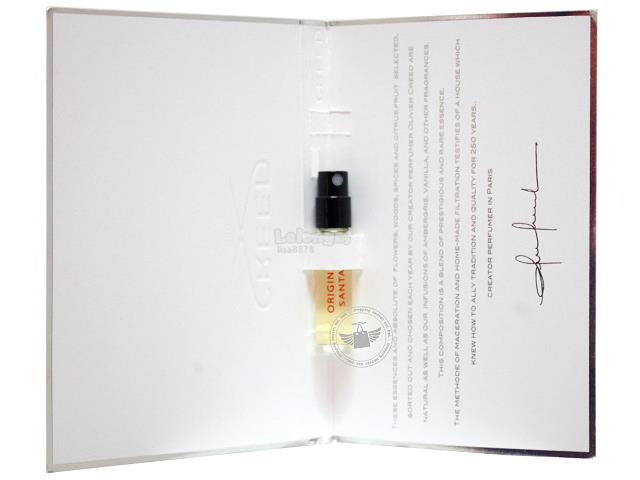 *100% Original Perfume Vials*Creed Original Santal For Unisex 2.5ml ED