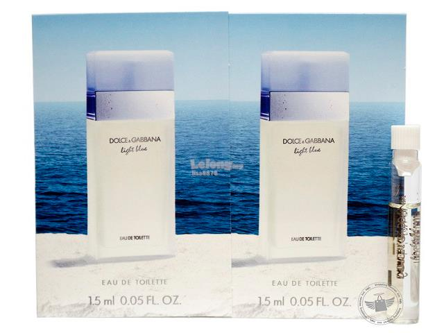 *100% Original Perfume Vials*D&G Light Blue For Women 1.5ml Edt Dab. ‹ ›