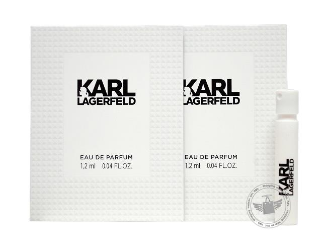 *100% Original Perfume Vials*Karl Lagerfeld For Women 1.2ml Edp x2