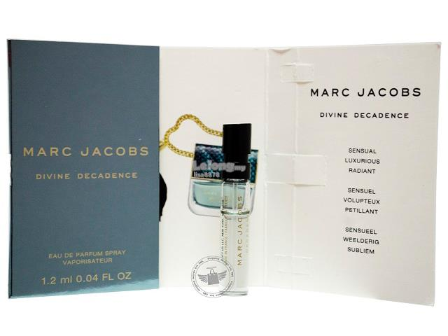 *100% Original Perfume Vials*M.Jacobs Decadence Divine 1.2ml Spray x2