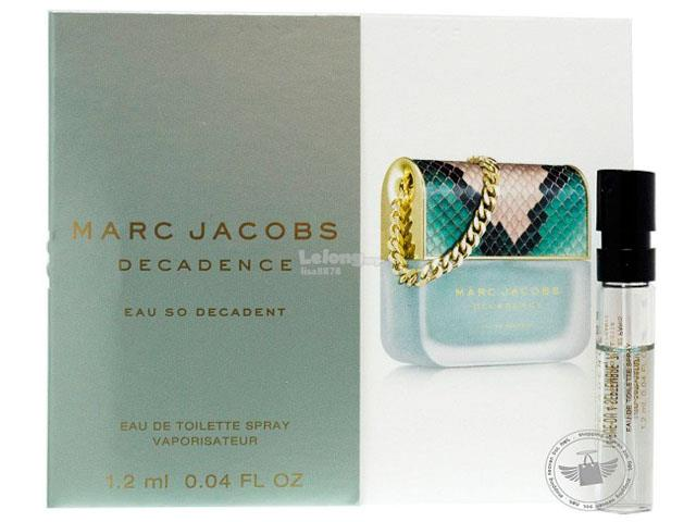 *100% Original Perfume Vials*MJ Decadence Eau So Decadent 1.2ml Edt