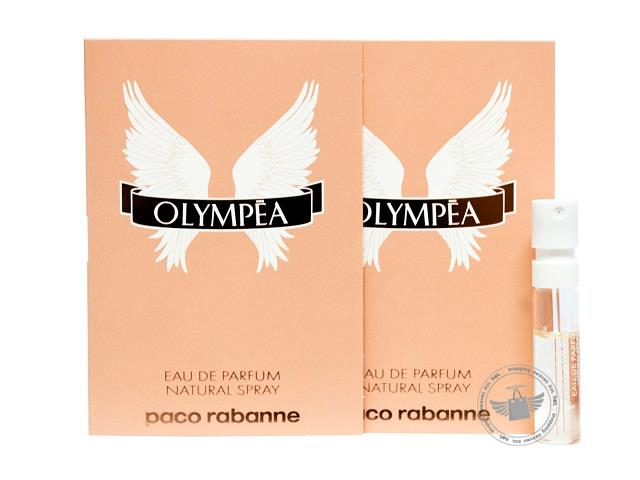 *100% Original Perfume Vials*P.Rabanne Olympea 1.5ml Edp Spray x2