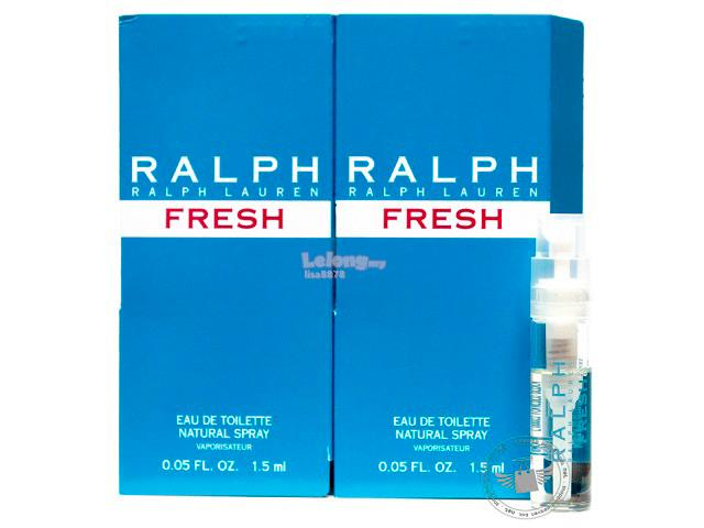 *100% Original Perfume Vials*Ralph Fresh 1.5ml Edt Spray x2