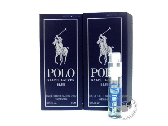 *100% Original Perfume Vials* RL Polo Blue 1.5ml Edt Spray x2