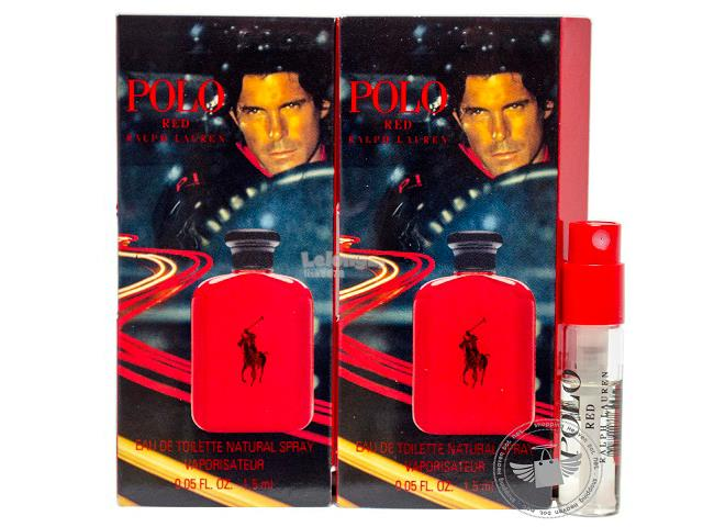 *100% Original Perfume Vials* RL Polo Red 1.5ml Edt Spray x2