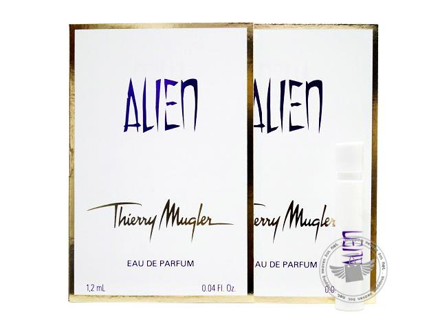 *100% Original Perfume Vials*T. Mugler Alien 1.2ml Edp Spray x2