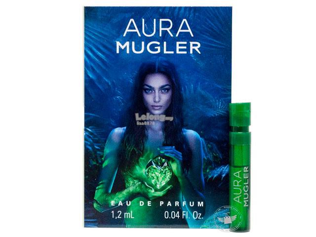 *100% Original Perfume Vials*Thierry Mugler Aura 1.2ml Edp Spray x2
