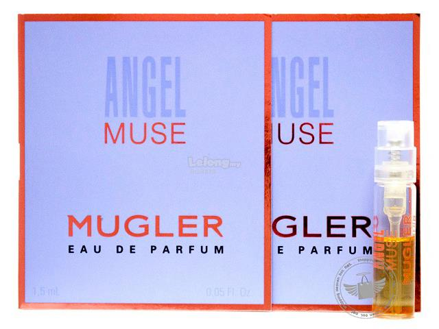 *100% Original Perfume Vials*TM Angel Muse 1.5ml EDP Spray x2