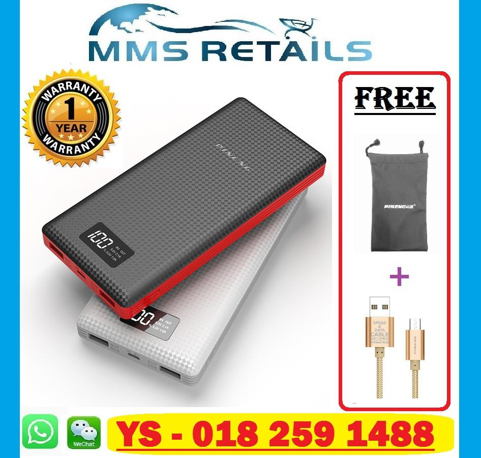 100% Original Pineng Powerbank Pn969 Pn-969 20000mah Power Bank PN 969