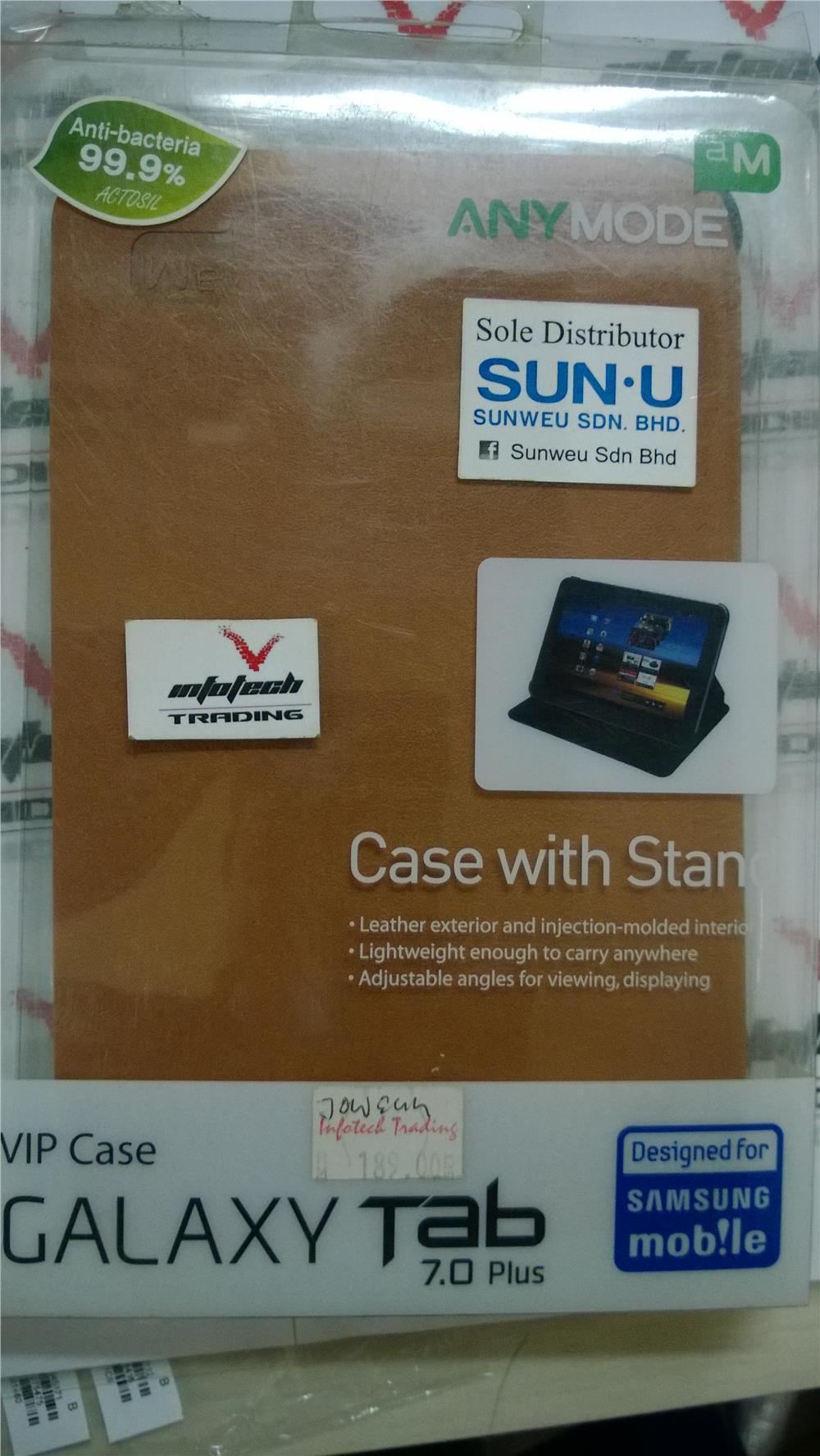 100% ORIGINAL SAMSUNG ANYMODE GALAXY TAB 7.7 P6800 FLIP COVER