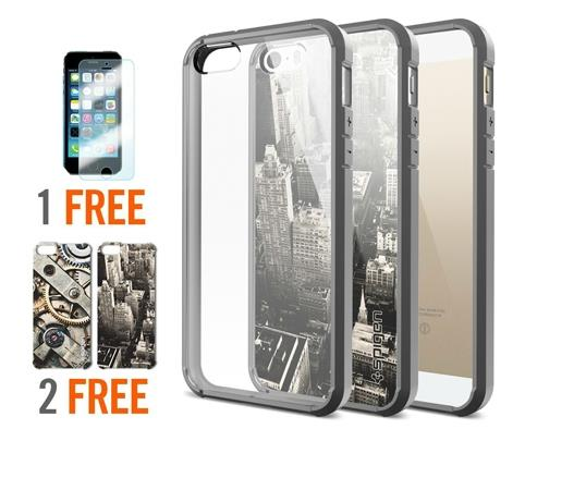 100% Original SGP SPIGEN iPhone 5S 5 SE Ultra Hybrid Case
