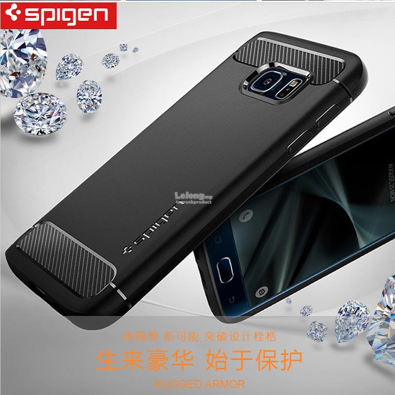 online store fa197 f5e4b 100% Original Spigen Samsung Galaxy S7 / Edge Rugged Armor Case Cover