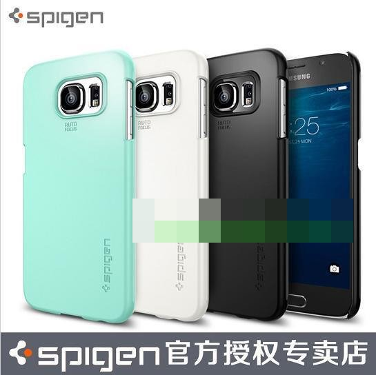 100% Original Spigen SGP Samsung Galaxy S6 Thin Fit Case Cover Casing