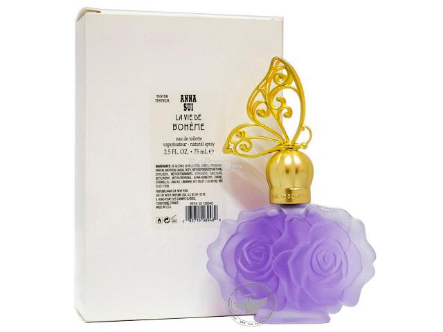 *100% Original Tester Unit*Anna Sui La Vie De Bohème 75ml Edt Spray