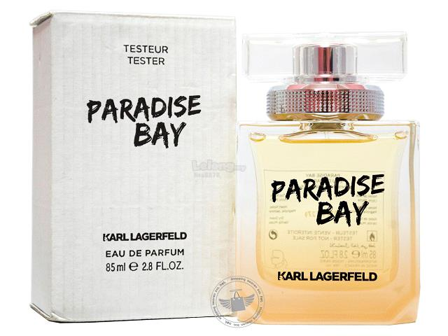 *100% Original Tester Unit*Karl Lagerfeld Paradise Bay For Women 85ml