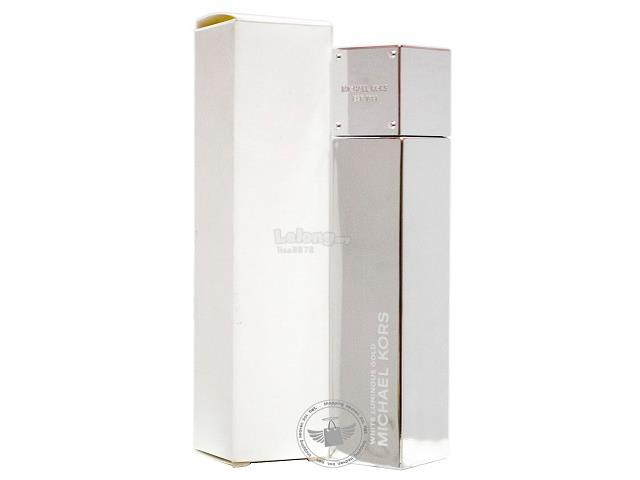 *100% Original Tester Unit*M.KORS White Luminous Gold 100ml EDP Spray