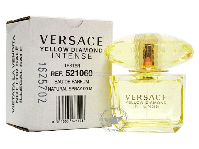 *100% Original Tester Unit*Versace Yellow Diamond Intense 90ml Edp Spr