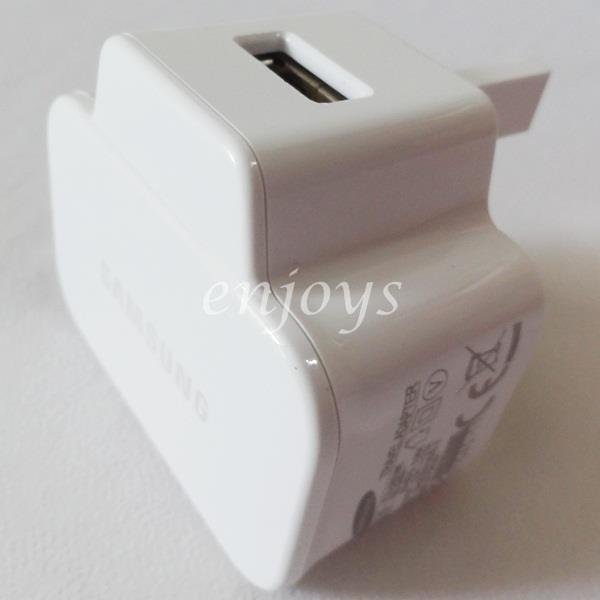 100% ORIGINAL USB Charger Adapter Head ETA-U90UWE Samsung N7100 I9500