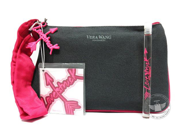 *100% Original* Vera Wang Lovestruck Mini Perfume With Wristlet