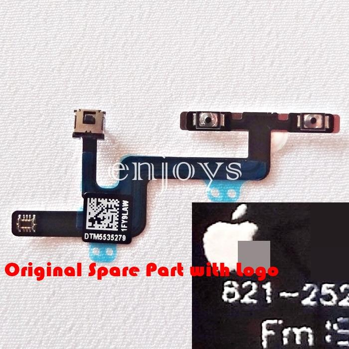 100% ORIGINAL Volume Mute Switch Flex Ribbon Apple iPhone 6 (4.7) *XPD