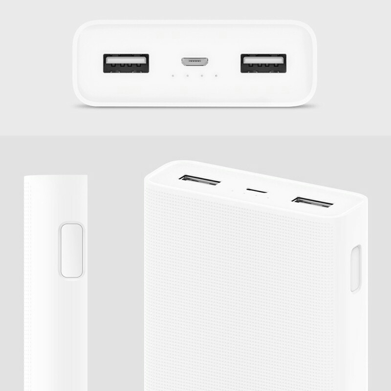 huge selection of 0e250 181fa 100% Original Xiaomi Mi power bank powerbank 20000mAh 2C Quick Charge