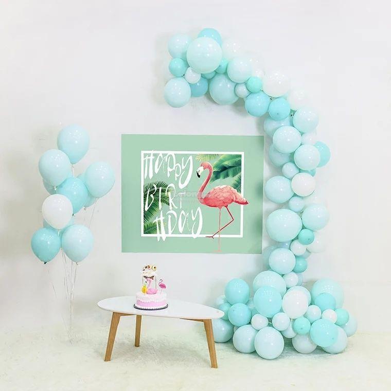 100 PCS Latex Balloon Macaroon Color Wedding Decoration Balloons Baby