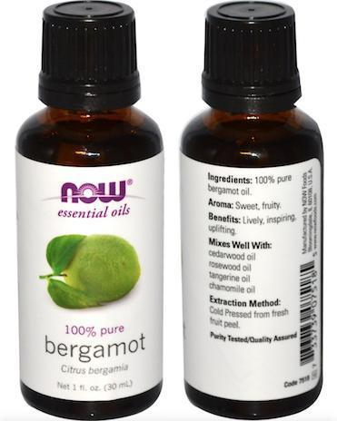 100% Pure Bergamot Essential Oils, Made in USA (30ml)