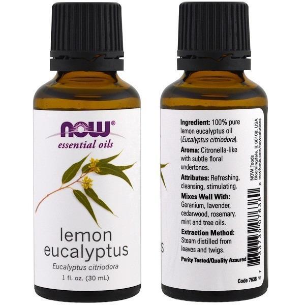 100% Pure Lemon Eucalyptus (Eucalyptus Citriodora) (30 ml)