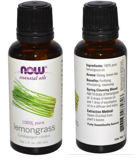 100% Pure Lemongrass Essential Oils, Made in USA (30ml)