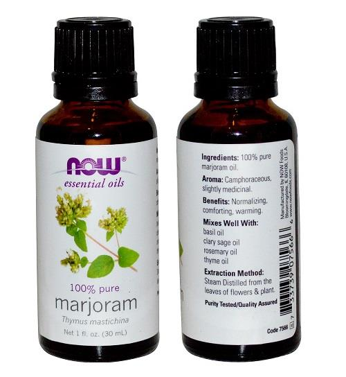 100% Pure Marjoram Essential Oil (30ml)