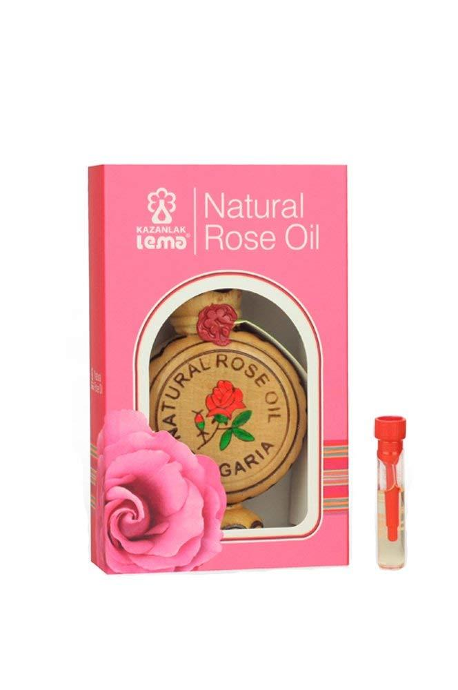 100% Pure and Natural Essential Rose Oil 0.5 ml undiluted - LEMA