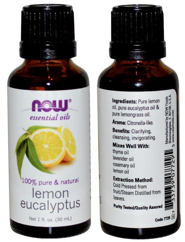 100% Pure & Natural Lemon Eucalyptus (30ml)