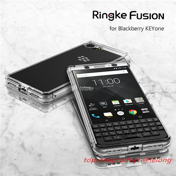 100% Rearth Ringke Blackberry Keyone DTEK70 Fusion Case Cover Casing