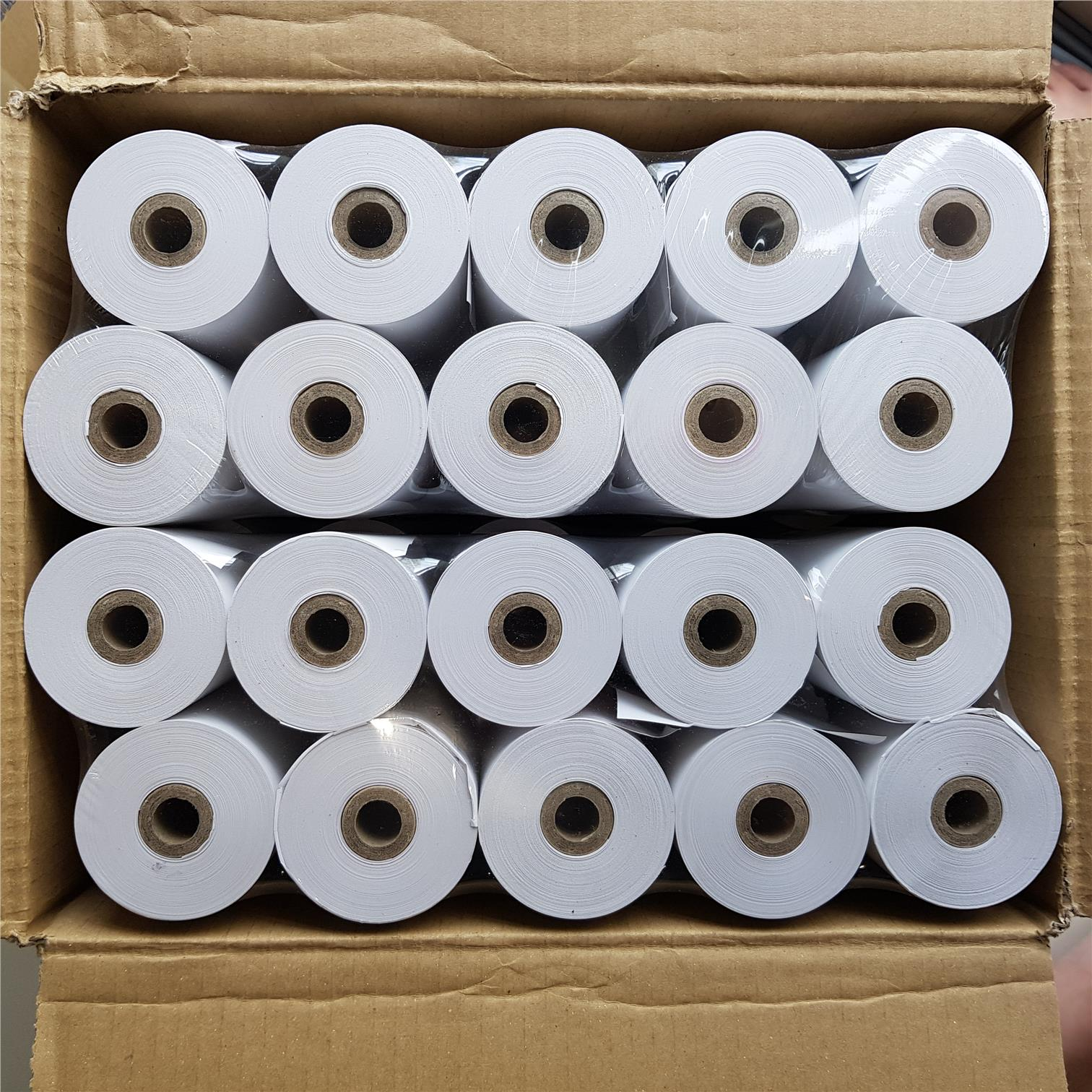 100 Rolls POS Cash Register Thermal Receipt Paper 80 x 60 mm