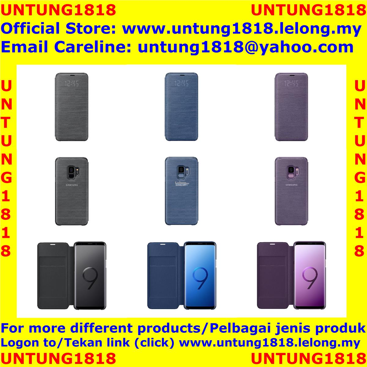 100% Samsung.Samsung Galaxy S9 S9 Plus S9+ LED View Cover